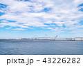ベイブリッジ 晴れ 東京湾の写真 43226282