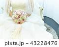 花嫁 ブーケ 新婦の写真 43228476