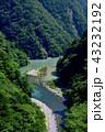 寸又峡 渓谷 川の写真 43232192