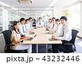 会議 ビジネスマン ビジネスの写真 43232446