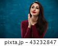 ポートレート 女 女の人の写真 43232847