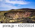 伊豆大島 風景 火山の写真 43235014