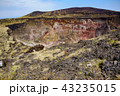 伊豆大島 風景 火山の写真 43235015
