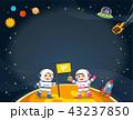 宇宙飛行士 天文 天文学のイラスト 43237850
