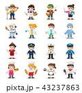 セット 児童 子どものイラスト 43237863