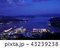 佐世保市 夜景 海の写真 43239238
