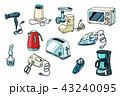 器具 道具 用具のイラスト 43240095