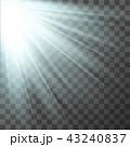 背景 ビーム 光のイラスト 43240837