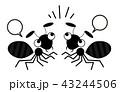 アリのイラスト 43244506