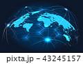 グローバル 結びつき 繋がりのイラスト 43245157