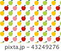 柄 パターン 果実のイラスト 43249276