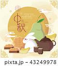 アジア人 アジアン アジア風のイラスト 43249978