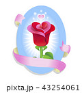 バラ 花 芽のイラスト 43254061