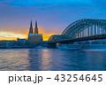 ケルン ケルン大聖堂 川の写真 43254645