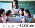 小学校のIT教育 授業風景 43256100
