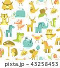 パターン 柄 模様のイラスト 43258453