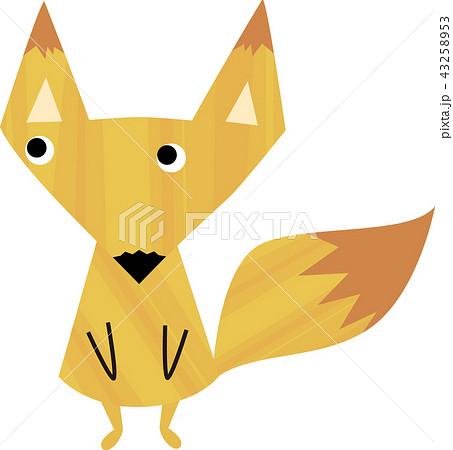 可愛らしい狐の子供 43258953