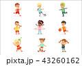 スポーツ 運動 キッズのイラスト 43260162