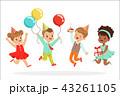 子供 こども達 児童のイラスト 43261105