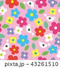 花柄 花 模様のイラスト 43261510