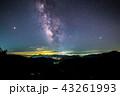 《流星群写真》 ペルセウス座流星群と天の川 43261993
