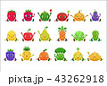 くだもの フルーツ 実のイラスト 43262918