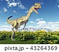 恐竜 爬虫類 動物のイラスト 43264369