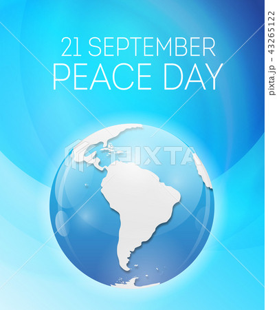 Internationnal Peace Day concept. Vector Illustration 43265122