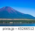 富士山 世界遺産 山中湖の写真 43266512