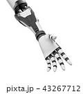 ロボット サイボーグ 手のイラスト 43267712