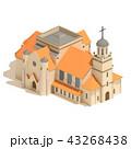 大聖堂 教会 聖堂のイラスト 43268438