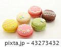 マカロン スイーツ 洋菓子の写真 43273432