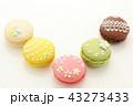 マカロン スイーツ 洋菓子の写真 43273433