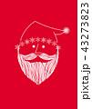 クリスマス サンタクロース クリスマスカードのイラスト 43273823