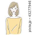 ベクター 笑顔 ビューティーのイラスト 43277946