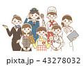 女性 職業 集合 43278032