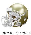 アメリカンフットボールのヘルメット 43279038