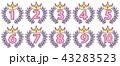 賞 順位 王冠のイラスト 43283523
