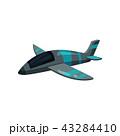 飛行機 航空機 ファイターのイラスト 43284410