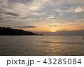プーケット 海 夕焼けの写真 43285084