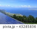 びわ湖バレイ 琵琶湖 風景の写真 43285836