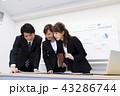 ビジネス 会議 チームの写真 43286744
