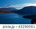 中ノ倉山から富士山と本栖湖の眺め 43290561
