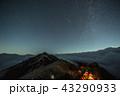 《長野県 燕岳》 燕岳とペルセウス座流星群 43290933