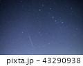 《ふたご座流星群》 ふたご座流星群と北斗七星 43290938