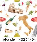 イタリア イタリー イタリヤのイラスト 43294494