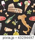 イタリア イタリー イタリヤのイラスト 43294497