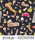 イタリア イタリー イタリヤのイラスト 43294500