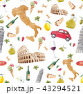 イタリア イタリー イタリヤのイラスト 43294521