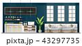 コーヒー お店 ショップのイラスト 43297735